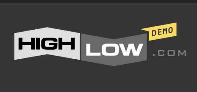 ハイローオーストラリアデモ画面のロゴ